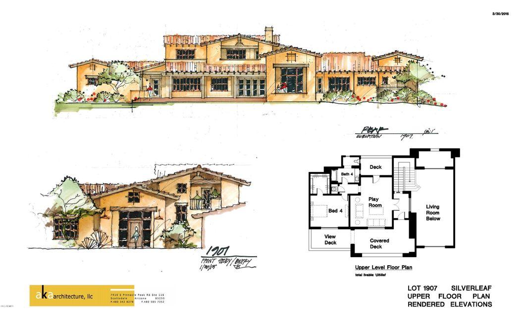 MLS 5441833 10944 E Whistling Wind Way Unit 1907, Scottsdale, AZ 85255 Scottsdale AZ Newly Built