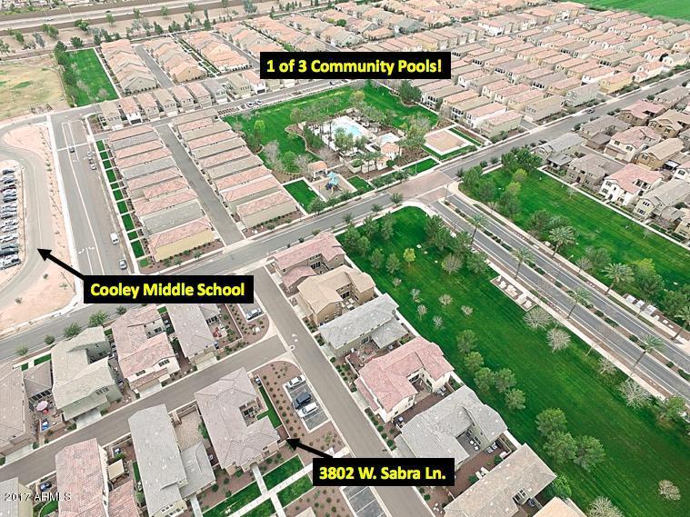 MLS 5552748 3802 E SABRA Lane, Gilbert, AZ Gilbert AZ Cooley Station