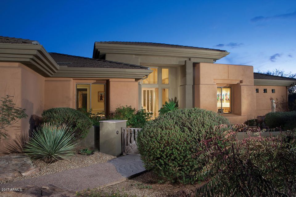 Single Family Home for Sale at 9265 E Hackamore Drive Scottsdale, Arizona,85255 United States