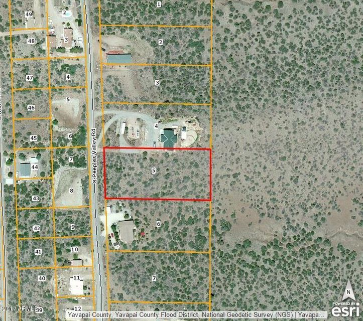 18129 S Peeples Valley Road Lot 5, Peeples Valley, AZ 86332