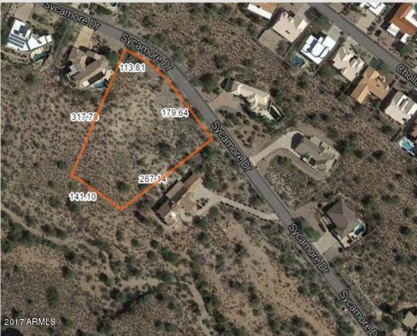 15911 E SYCAMORE Drive Lot 9, Fountain Hills, AZ 85268