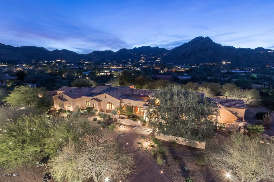 Single Family Home for Sale at 7630 N Invergordon Road Paradise Valley, Arizona,85253 United States