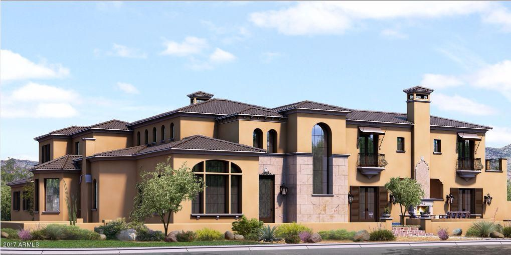 Simply put, THE best value in all of Silverleaf. Set for completion Jan of 2018.  Situated on a 28,000 sqft interior lot, This 6500 sqft masterpiece has been priced at an unheard of pre-construction price. Tastefully designed with some of the highest quality of finishes in the marketplace including: Artisan Oak Flooring, Coffered Ceilings with Imported Wood Beams, Custom Kitchen Millwork,  Wolf 6 Burner Range, Dual Sub Zero Fridge, Brizo Plb. Fixtures, Limestone Fireplace and trim and so much more.  Backyard is sensational! Gorgeous pool and spa area with covered paito and bbq. Situated with great views of the McDowell's. Owner offering an exceptional price to sell prior to completion.  Hurry and still chose your selection finishes. This IS the best value you will find.