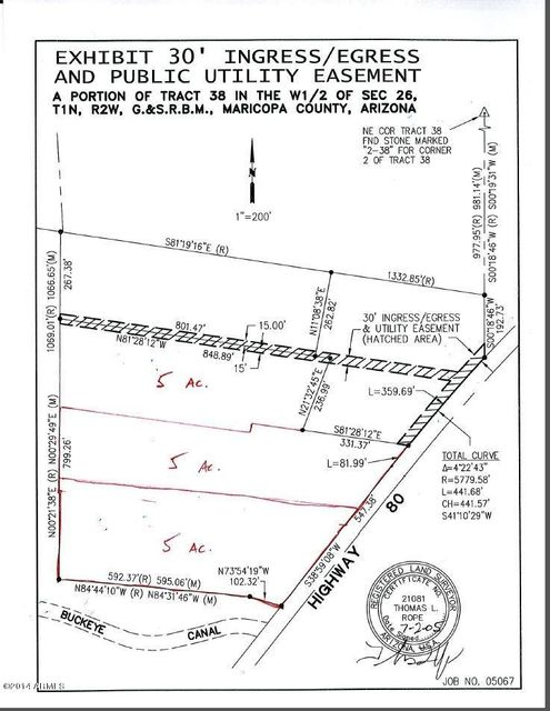 17852 W MC 85 Highway Lot 1, Goodyear, AZ 85338
