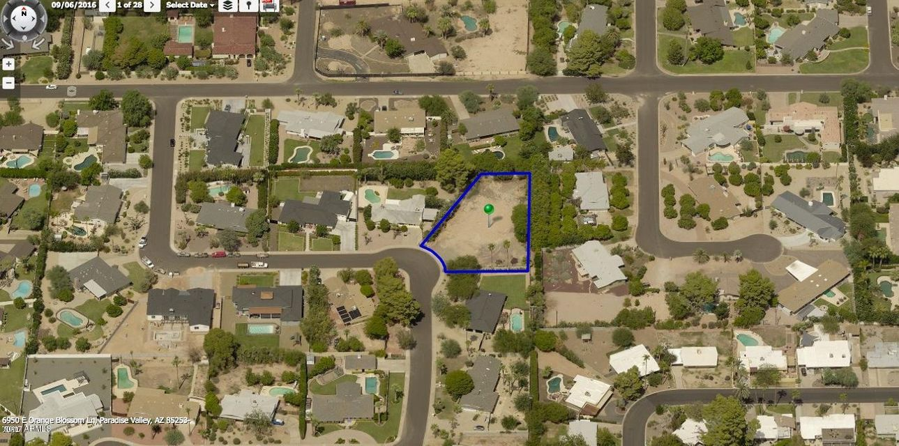 6950 E ORANGE BLOSSOM Lane Lot 107, Paradise Valley, AZ 85253