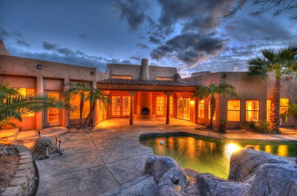 MLS 5570045 5752 E Sentinel Rock Road, Carefree, AZ Carefree AZ Private Pool
