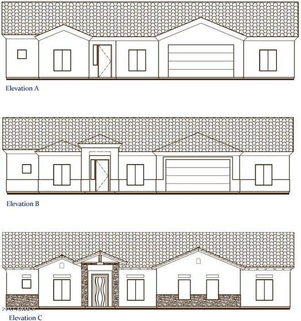 MLS 5570393 28512 N BUSH Street, Wittmann, AZ Wittmann AZ Newly Built