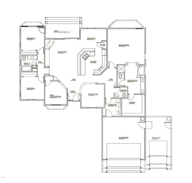 MLS 5570395 28212 N Bush Street, Wittmann, AZ Wittmann AZ Newly Built