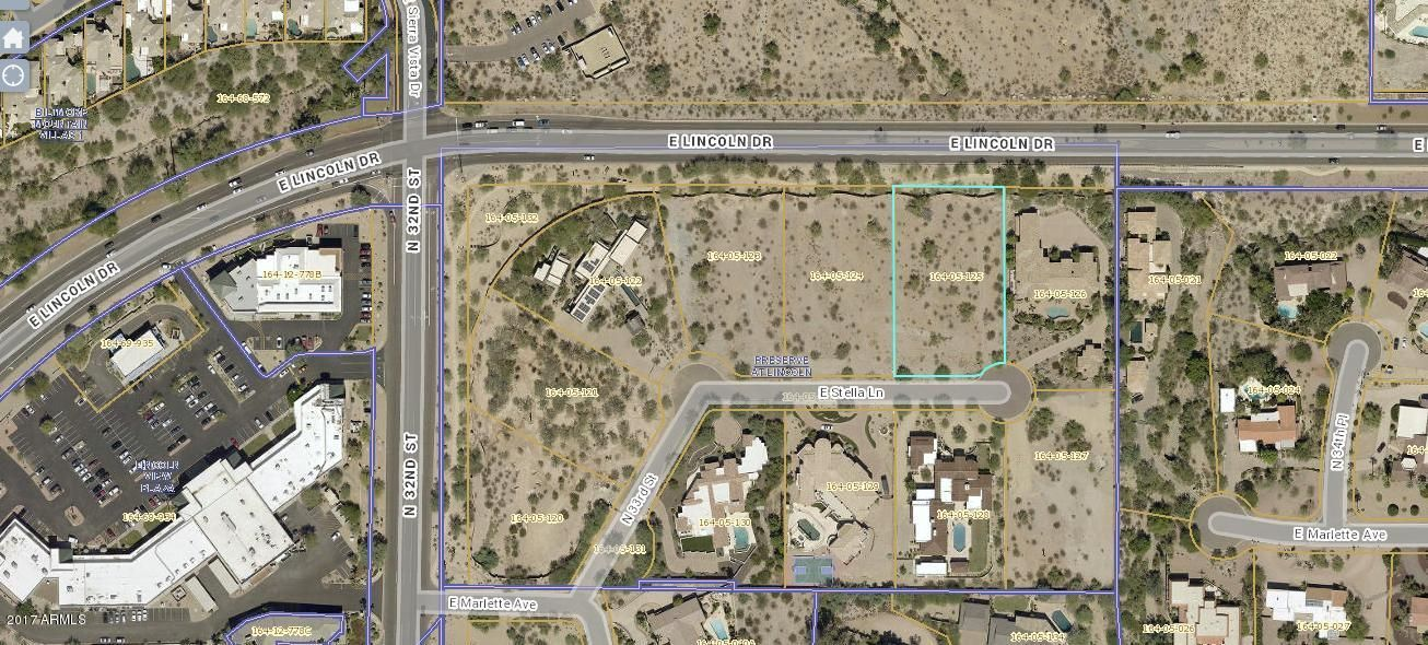 3310 E Stella Lane Lot 6, Paradise Valley, AZ 85253