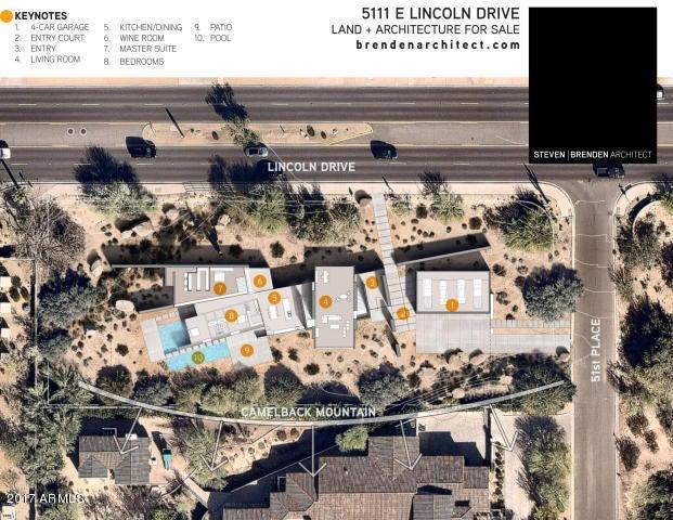 5111 E LINCOLN Drive Paradise Valley, AZ 85253 - MLS #: 5580167