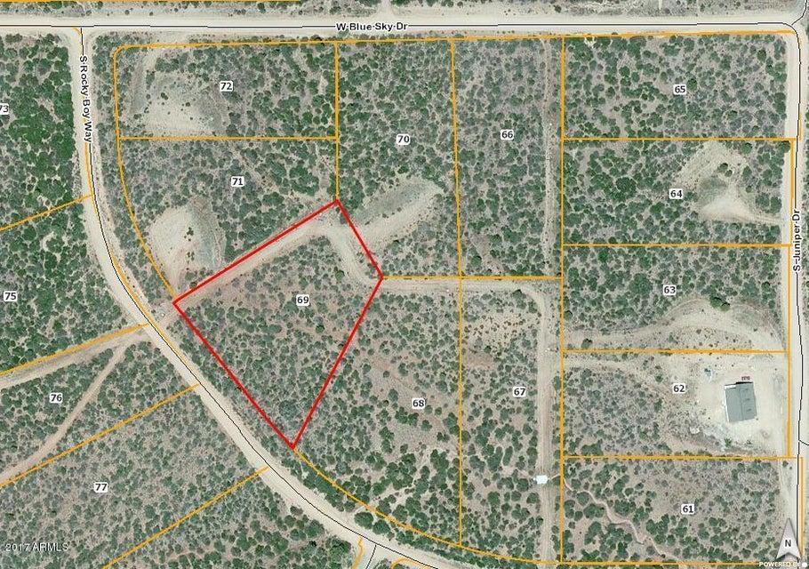 17369 S Rocky Boy Way Lot 69, Peeples Valley, AZ 86332