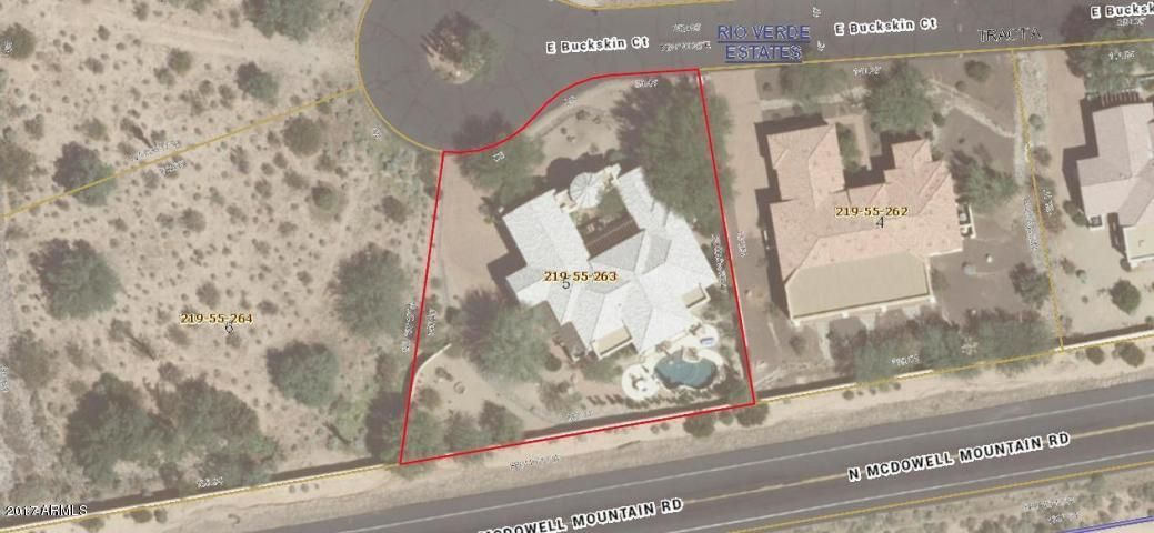 MLS 5591018 19031 E BUCKSKIN Court, Rio Verde, AZ 85263 Rio Verde AZ Three Bedroom