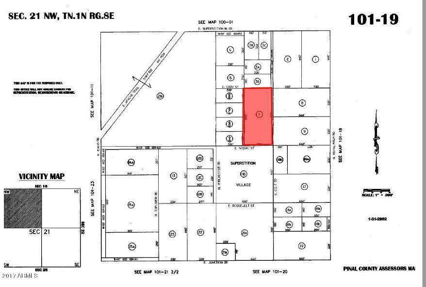 E Scenic Street Lot 1, Apache Junction, AZ 85119