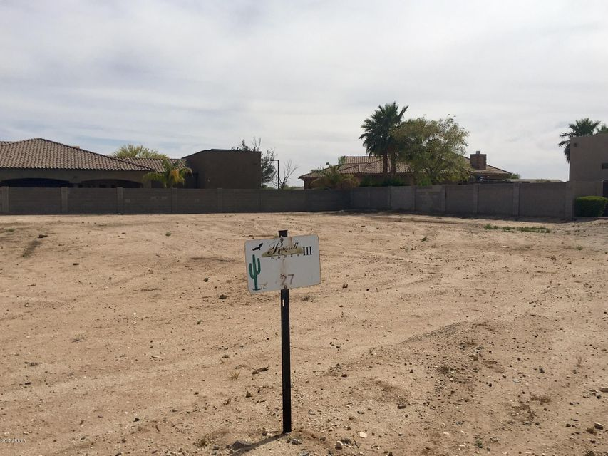 18223 W RANCHO Court Lot 27, Litchfield Park, AZ 85340