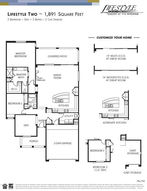 MLS 5606254 14200 W VILLAGE Parkway Unit 2256, Litchfield Park, AZ 85340 Litchfield Park AZ Newly Built