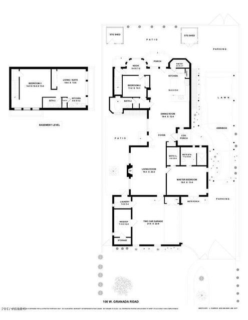 MLS 5603841 108 W GRANADA Road, Phoenix, AZ 85003 Phoenix AZ Central Corridor