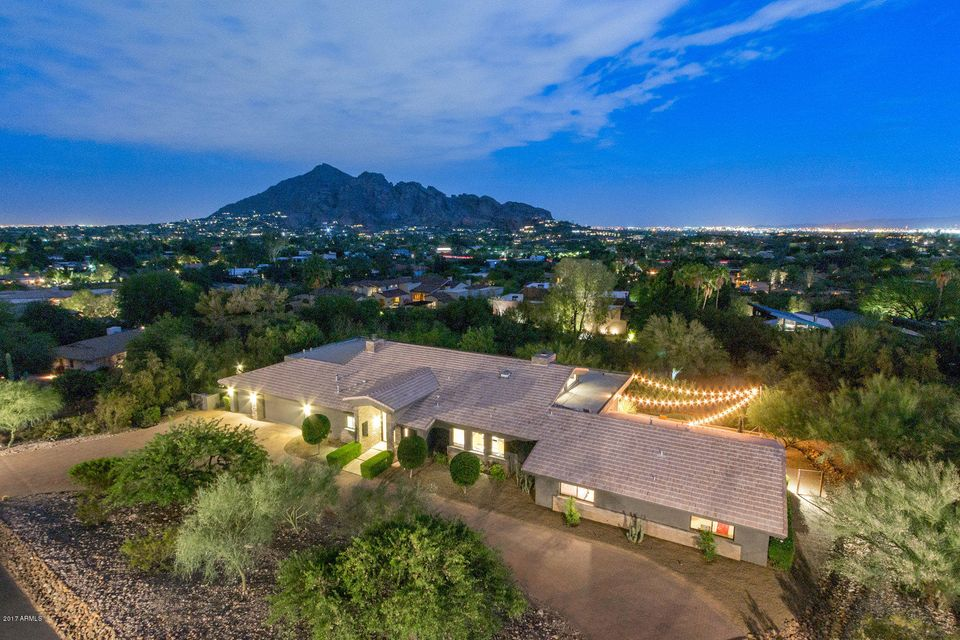 Single Family Home for Sale at 4315 E Highlands Drive Paradise Valley, Arizona,85253 United States