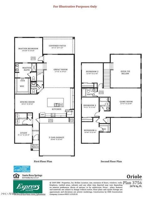 17054 N ROSEMONT Street Maricopa, AZ 85138 - MLS #: 5617019