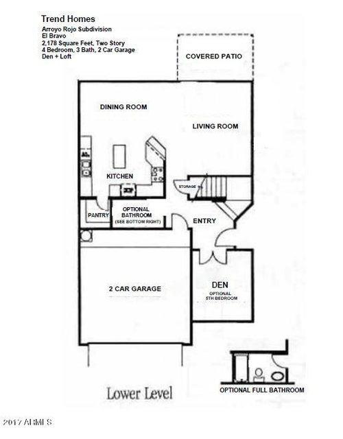 MLS 5611961 1118 E MONONA Drive, Phoenix, AZ 85024 Phoenix AZ Arroyo Rojo
