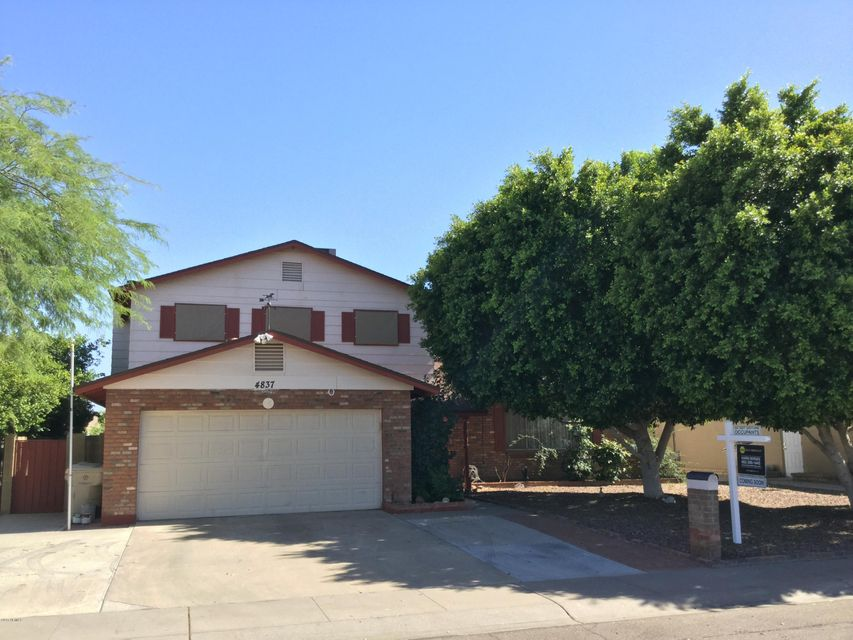 4837 W BERYL Avenue, Glendale, AZ 85302