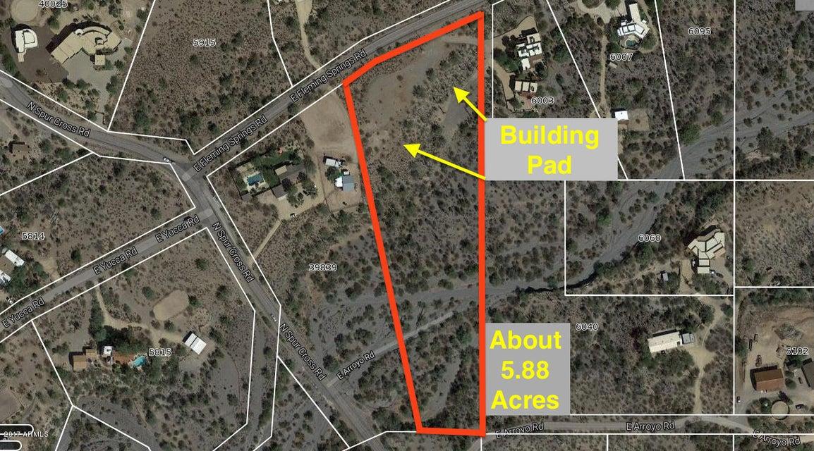 5933 E FLEMING SPRINGS Road Lot 12, Cave Creek, AZ 85331