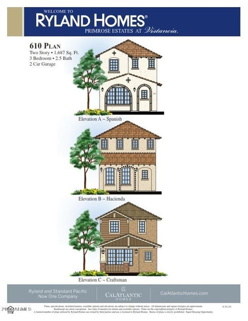 MLS 5624547 12456 W HUMMINGBIRD Terrace, Peoria, AZ Peoria AZ Newly Built