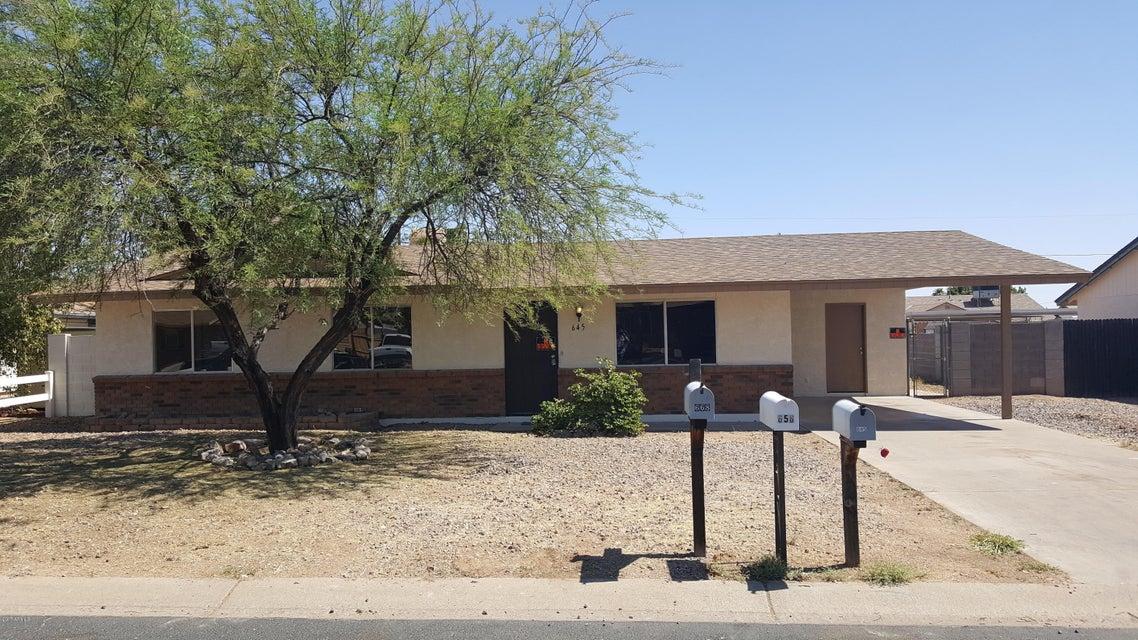 645 E MESQUITE Avenue, Apache Junction, AZ 85119