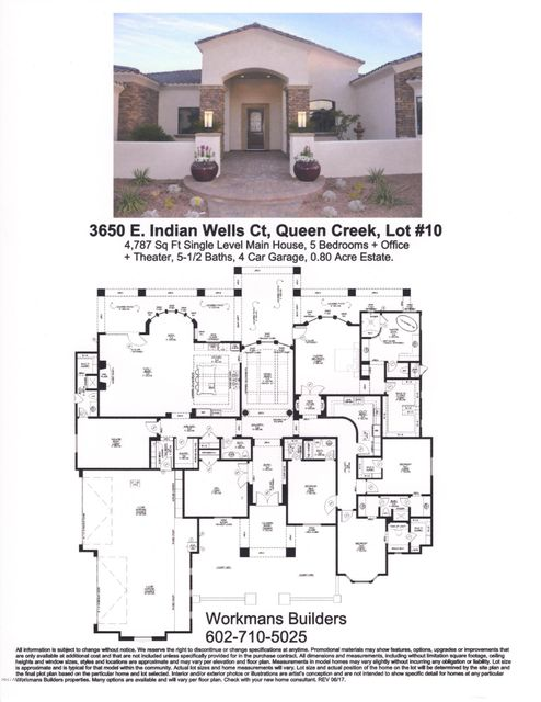 Photo of 3650 E Indian Wells Court, Queen Creek, AZ 85142