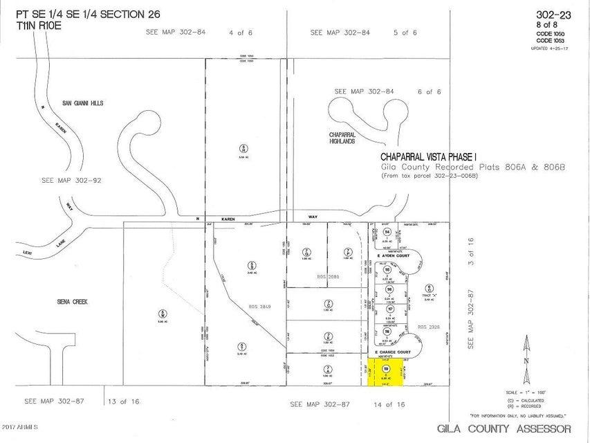 MLS 5634287 1901 E Chance Court, Payson, AZ Payson AZ Newly Built