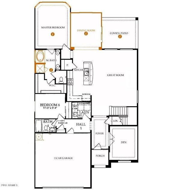 MLS 5636629 8718 N EDMONTON Court, Waddell, AZ 85355 Waddell AZ 5 or More Bedroom