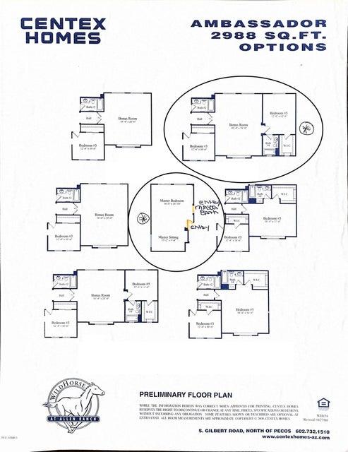 MLS 5639606 3000 S IRONWOOD Street, Gilbert, AZ 85295 Gilbert AZ Allen Ranch