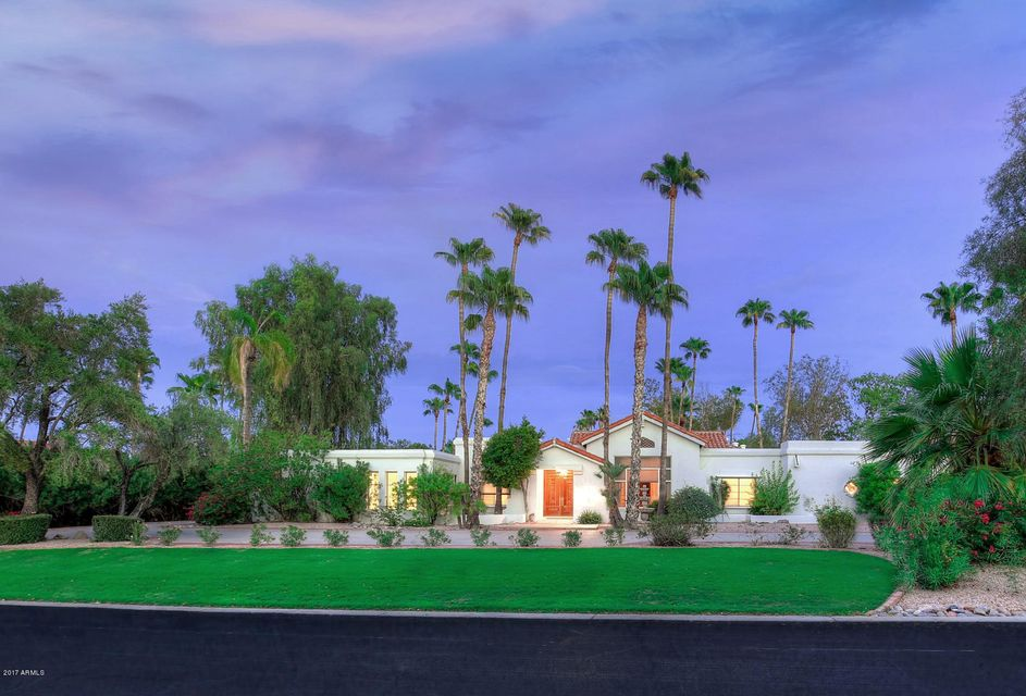 Single Family Home for Sale at 6417 N 61st Place 6417 N 61st Place Paradise Valley, Arizona,85253 United States
