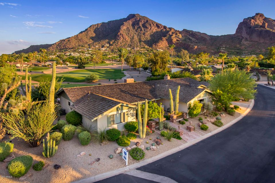 Single Family Home for Sale at 5525 E Lincoln Drive 5525 E Lincoln Drive Paradise Valley, Arizona,85253 United States