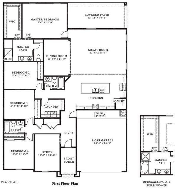 MLS 5648039 9282 W Vermont Avenue, Glendale, AZ Glendale AZ Newly Built