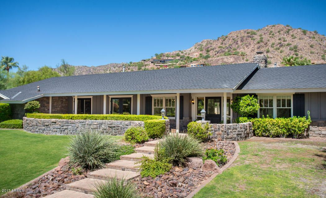 Single Family Home for Sale at 4816 E Crystal Lane Paradise Valley, Arizona,85253 United States
