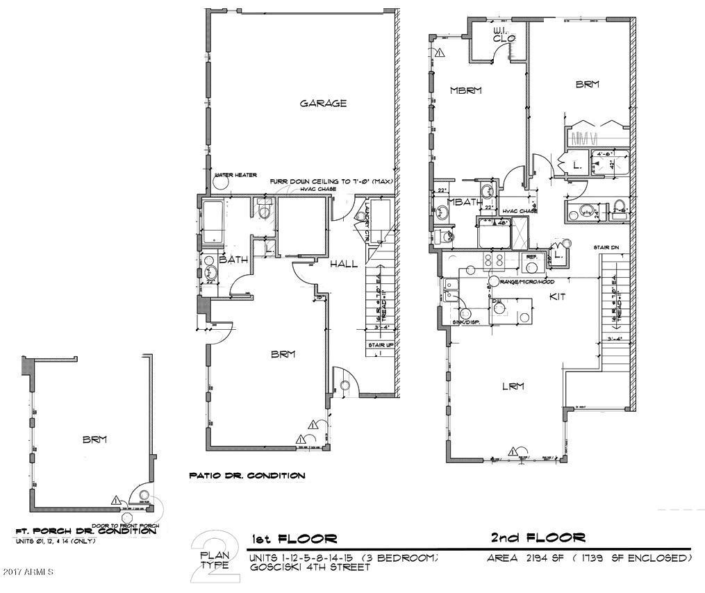 MLS 5651341 1301 W 4TH Street Unit 1015, Tempe, AZ 85281 Tempe AZ Mountain View
