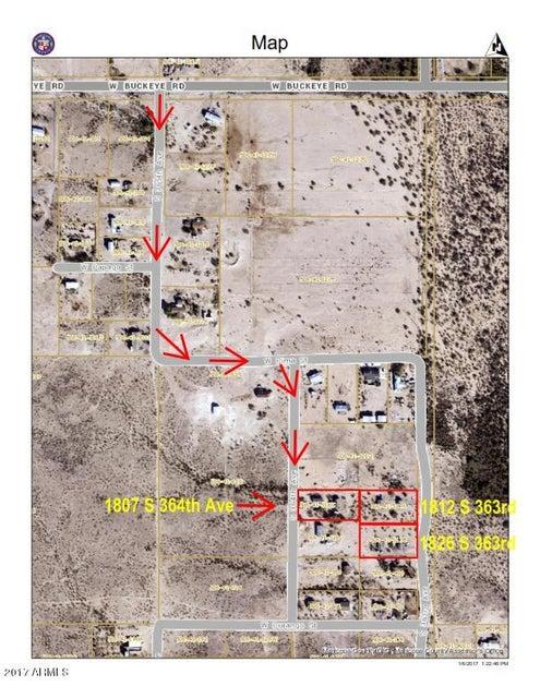 MLS 5548721 1807 S 364TH Avenue, Tonopah, AZ Tonopah AZ Scenic