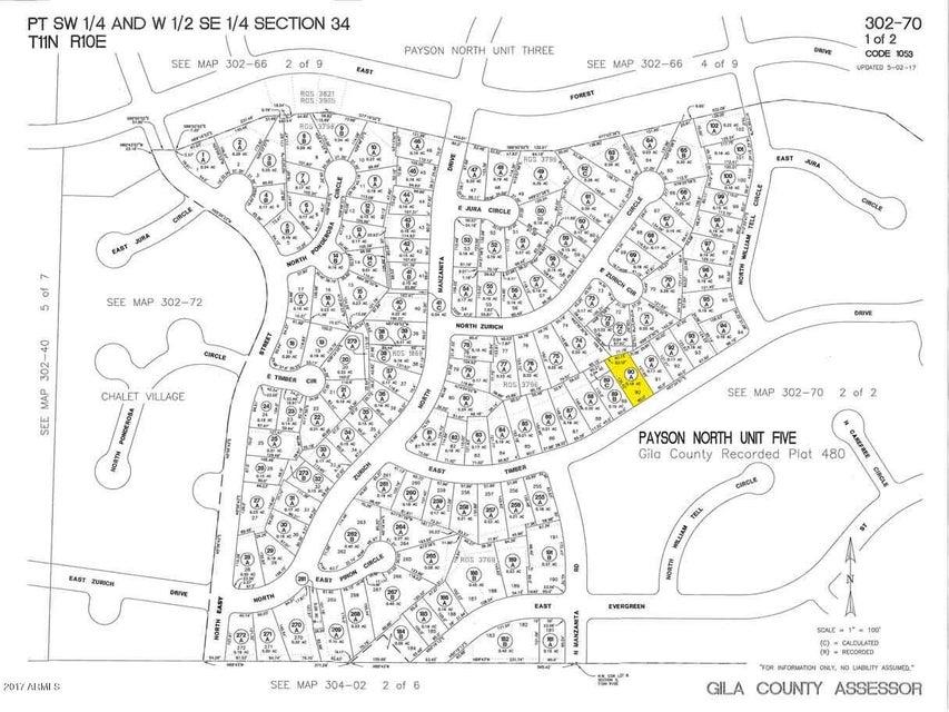 MLS 5603571 418 E Timber Drive, Payson, AZ Payson AZ Affordable