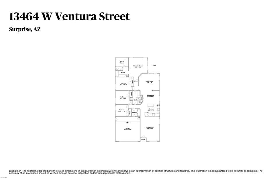 13464 W VENTURA Street Surprise, AZ 85379 - MLS #: 5663065
