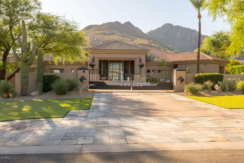 Single Family Home for Sale at Camelback Mansion 5102 N Wilkinson Road Paradise Valley, Arizona,85253 United States