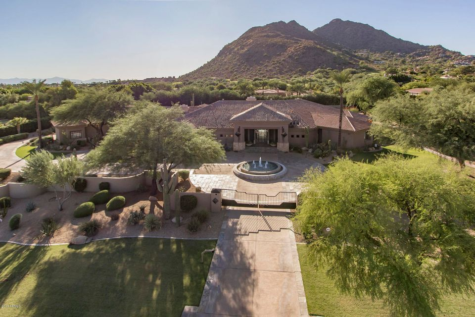 MLS 5670355 5102 N WILKINSON Road, Paradise Valley, AZ 85253 Paradise Valley AZ Tennis Court