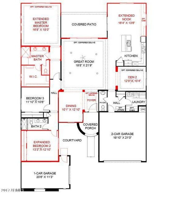 MLS 5675747 7606 S PENROSE Drive, Gilbert, AZ Gilbert AZ Three Bedroom