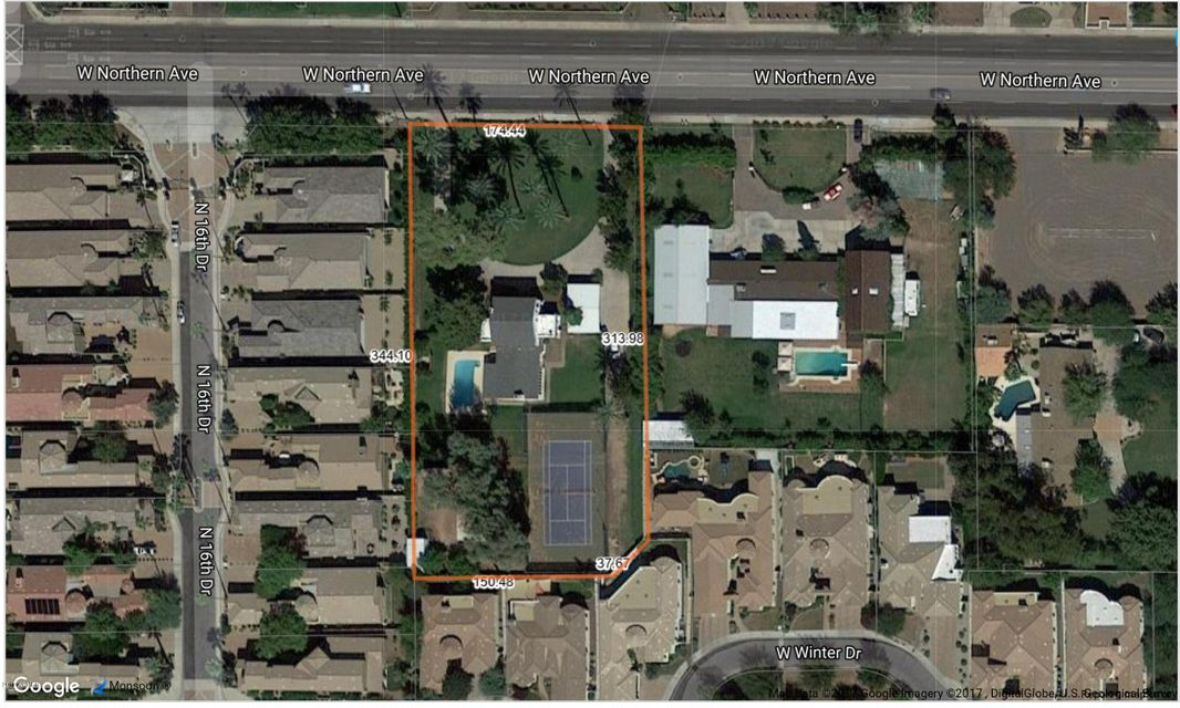 MLS 5677664 1545 W NORTHERN Avenue, Phoenix, AZ 85021 Phoenix AZ Metes And Bounds