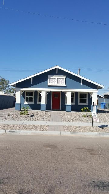 Photo of home for sale at 1614 ADAMS Street E, Phoenix AZ