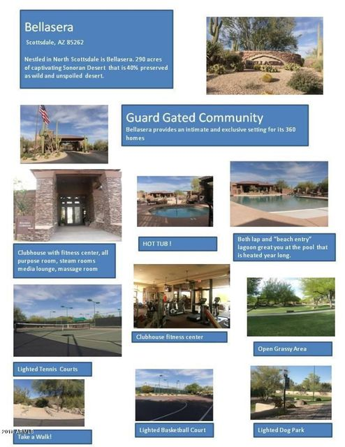 MLS 5685149 7721 E PONTEBELLA Drive, Scottsdale, AZ 85266 Scottsdale AZ Bellasera
