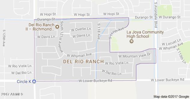 MLS 5688038 11982 W CALLE HERMOSA Lane, Avondale, AZ 85323 Avondale AZ RV Park