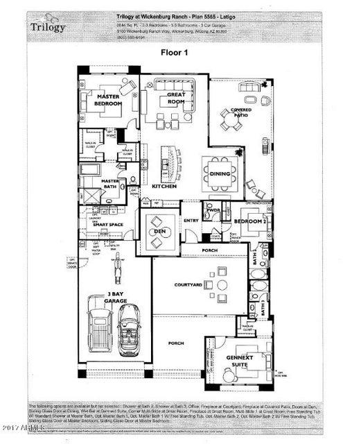 MLS 5688474 3597 STAMPEDE Drive, Wickenburg, AZ 85390 Wickenburg AZ Newly Built