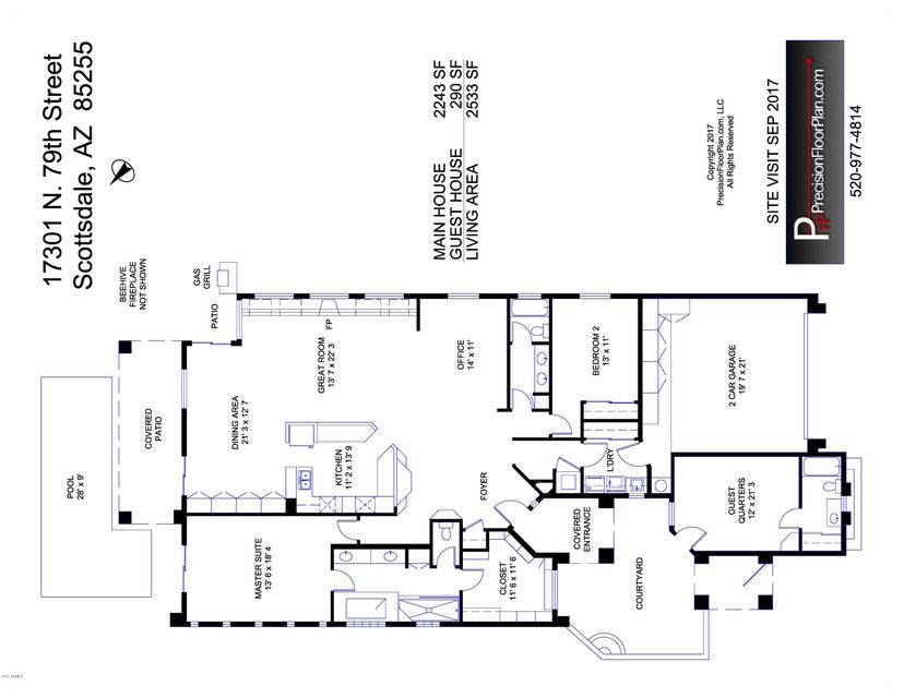 17301 N 79TH Street Scottsdale, AZ 85255 - MLS #: 5692666