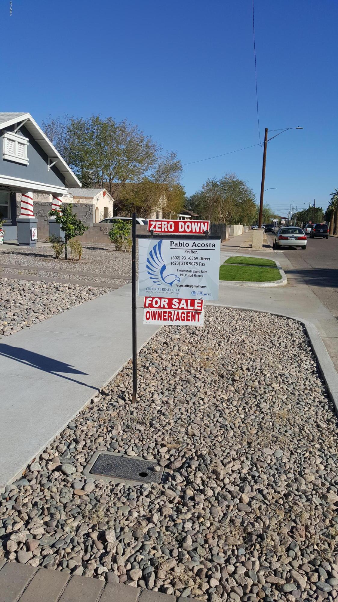 1614 E ADAMS Street Phoenix, AZ 85034 - MLS #: 5512513