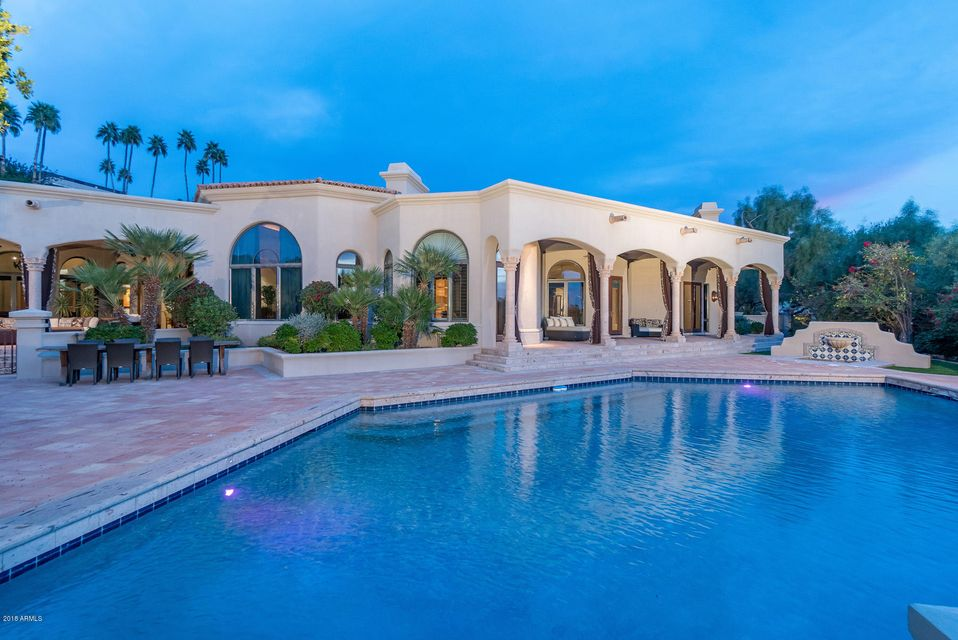 Single Family Home for Sale at 6060 N Paradise View Drive 6060 N Paradise View Drive Paradise Valley, Arizona,85253 United States